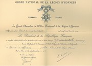ORDRE NATIONAL DE LA LEGION DHONNEURR